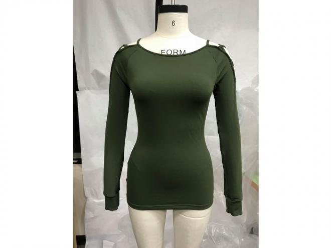 1801-TF012-47F 時裝系列(女) 正-深綠