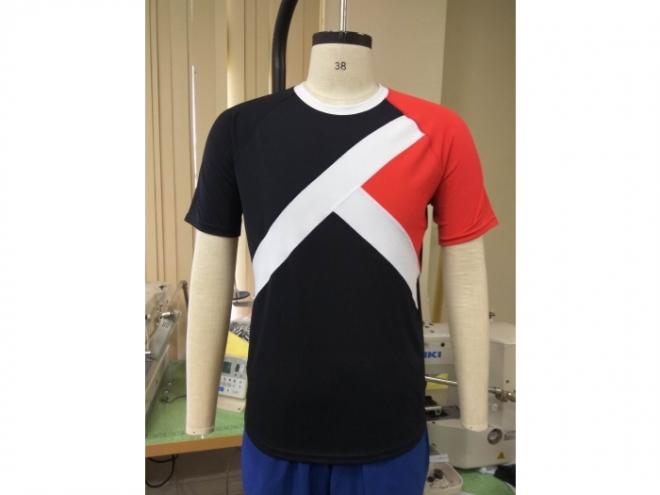 20-MT0102F 休閒上衣配色T恤系列(男) 正